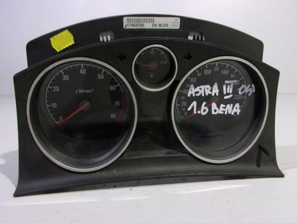 Opel Astra H III 3 licznik zegary benzyna